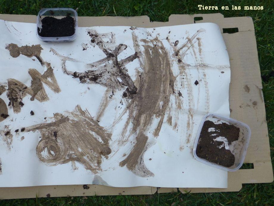 Pintando con tierra, un pigmento natural – Tierra en las manos
